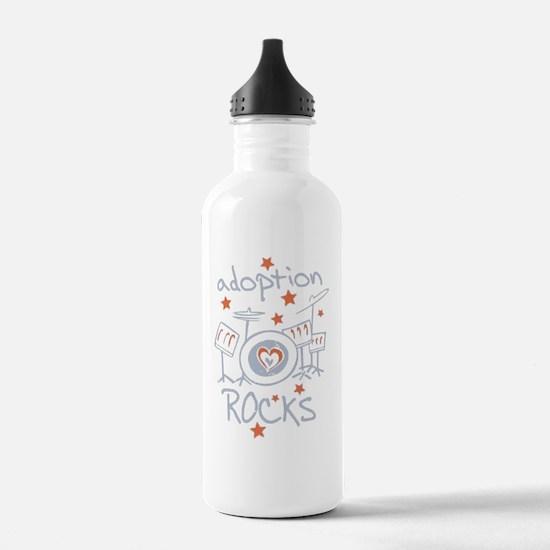 Cute Family rocks Water Bottle