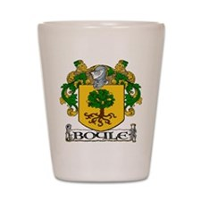 Boyle Coat of Arms Shot Glass