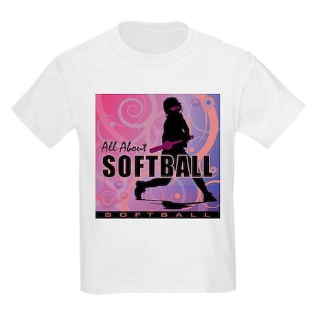 2011 Softball 107 Kids Light T-Shirt