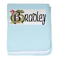 Bradley Celtic Dragon baby blanket