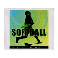 2011 Softball 105 Throw Blanket