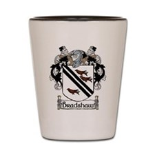 Bradshaw Coat of Arms Shot Glass