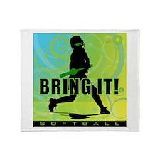 2011 Softball 102 Throw Blanket