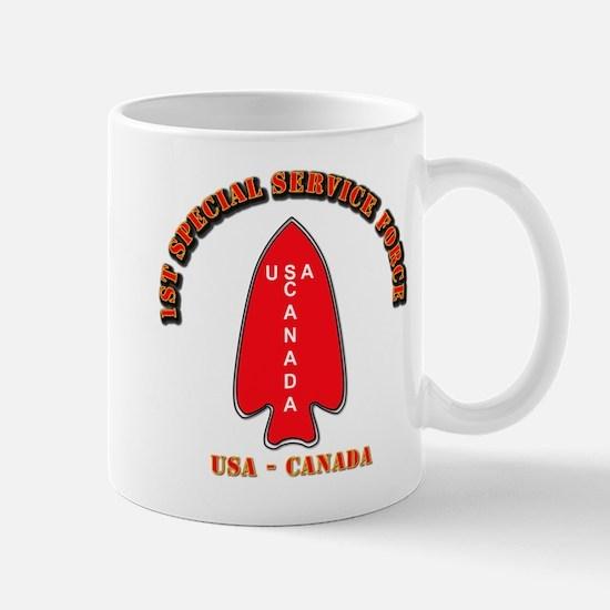 SOF - 1st Special Service Force - USA - Canada Mug