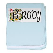 Brady Celtic Dragon baby blanket