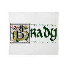 Brady Celtic Dragon Throw Blanket