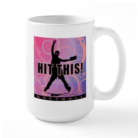 2011 Softball 95 Large Mug