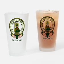 Brennan Clan Motto Drinking Glass