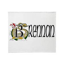 Brennan Celtic Dragon Throw Blanket