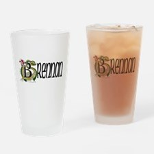 Brennan Celtic Dragon Drinking Glass