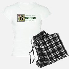 Brennan Celtic Dragon Pajamas