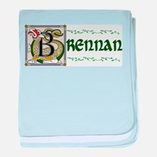 Brennan Celtic Dragon baby blanket