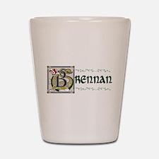 Brennan Celtic Dragon Shot Glass