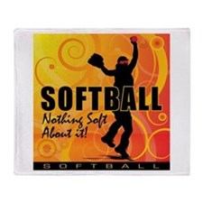 2011 Softball 83 Throw Blanket