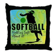 2011 Softball 81 Throw Pillow