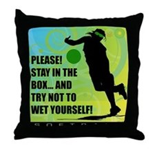 2011 Softball 75 Throw Pillow