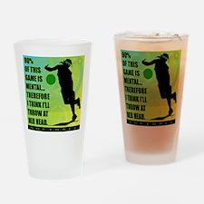 2011 Softball 72 Pint Glass