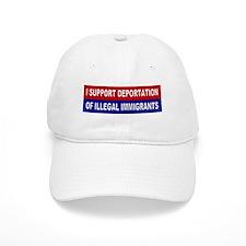 Support Deportation Baseball Cap