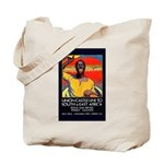 African Poster Tote Bag