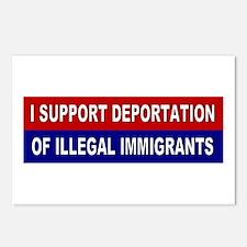 Support Deportation Postcards (Package of 8)