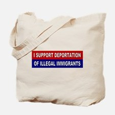 Support Deportation Tote Bag