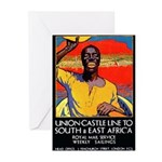 African Poster Greeting Cards (Pk of 10)