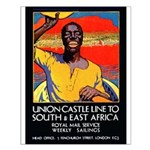 African Poster Small Poster