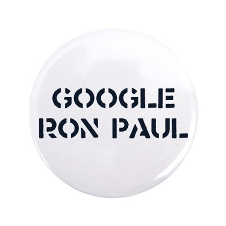 "Google Ron Paul 3.5"" Button (100 pack)"