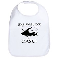 You Shall Not Cast Gandalf Muskie Bib