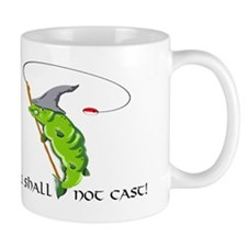 Gandalf You Shall Not Cast Fishing Mug