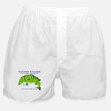 Muskie Chubby Chaser Fishing Boxer Shorts