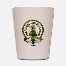 O'Brien Clan Motto Shot Glass
