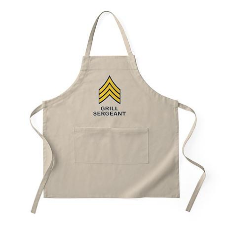 Grill Sergeant, Apron