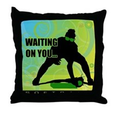 2011 Softball 45 Throw Pillow