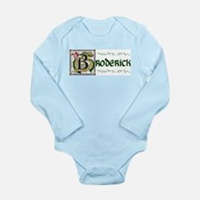 Broderick Illuminated Art Long Sleeve Infant Bodys