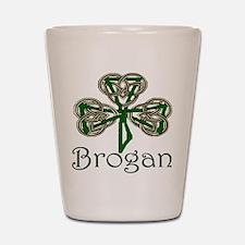 Brogan Shamrock Shot Glass