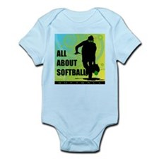 2011 Softball 36 Infant Bodysuit