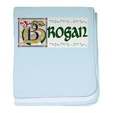 Brogan Celtic Dragon baby blanket