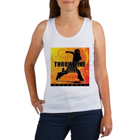 2011 Softball 31 Women's Tank Top