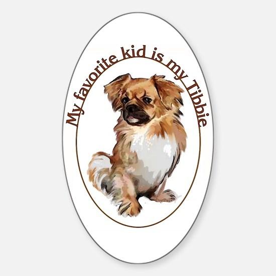 Tibbie Kid Oval Decal