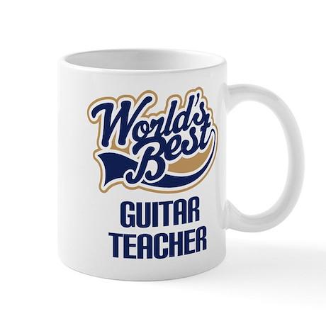 Guitar Teacher Gift Mug