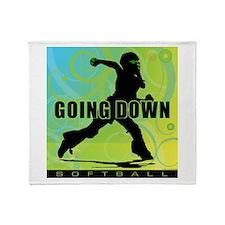 2011 Softball 27 Throw Blanket