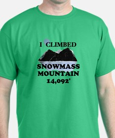 I Climbed Snowmass Mountain T-Shirt