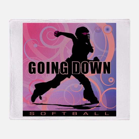 2011 Softball 26 Throw Blanket