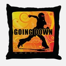 2011 Softball 25 Throw Pillow