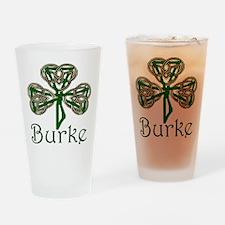 Burke Shamrock Drinking Glass