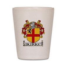 Burke Coat of Arms Shot Glass