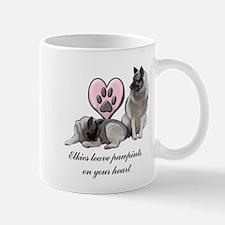 Elkie Pawprints Mug