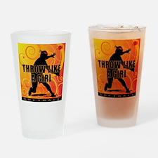 2011 Softball 19 Pint Glass