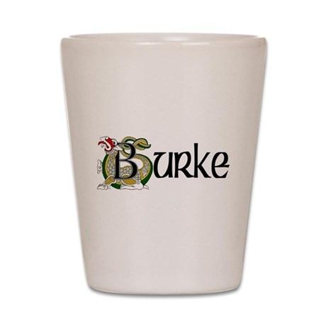 Burke Celtic Dragon Shot Glass